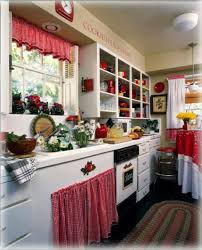 White Kitchen Curtains With Red Trim by Sassy Red And White Gingham Trim Kitchen Kitchens Pinterest