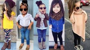 Cute Stylish Jeans Top Style For Little Girls Latest Western Outfits Ideas