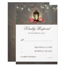 Lanterns Wedding Invitations Announcements