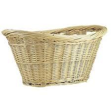 panier linge osier blanc achat vente panier linge osier blanc