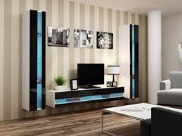 Anbauwand Wohnzimmer Mã Bel Wohnwand Vigo New3 Anbauwand Wohnzimmer Möbel Hochglanz Mit Led Beleuchtung