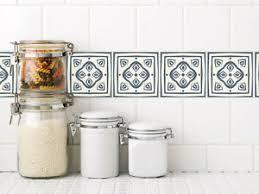 details zu fliesenaufkleber fliesen überkleben bad und küche ornamente weiß blau grau