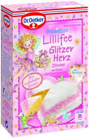 prinzessin lillifee backmischung glitzerherz backen