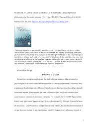 PDF Gestalt Psychology