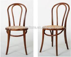 Thonet Bentwood Chair Replica by Bentwood Chair With Pu Seat Bent Solid Wood Elegant Dining