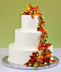 11 Great Ideas For Fall Wedding Cake Decoration