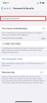 How To Change Your Apple ID And Device Passwords On An ...