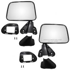 Toyota 4Runner Pickup Truck Set Of Side View Manual Mirrors Textured ... 2009 Ford F150 Driver Side Mirror Replacement 28 Images Buy 1990 Nissan Truck Rear Driver Side View Mirror Black Napa West Coast 7804 16 The Complete Replacement Cost Guide Nos Ford Outer Mirror Replacement Glass Transit Mk1 Mk2 D Truck Chevy Silverado Other Makesmodels Precut Custom Solutions Burco Inc Mirrors Luxury Heavy Duty Rh Dvids Images Soldier Cleans On Her M915a3 Truck Image 1 Heated Head Aw Direct Ford Car Perfect Convex Safety Stock Photos