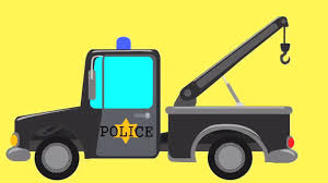 99 Youtube Truck Mainstream Cartoon Tow Pictures Police Video For Children