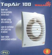 details zu lüfter ventilator top air bad wc küche 100 mm 90m h