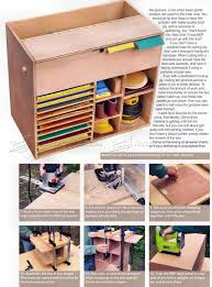 Sewing Cabinet Woodworking Plans by Sandpaper Storage Cabinet Plans Sanding Wood Workshop Solutions