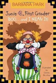 Best Halloween Books For Second Graders by Junie B First Grader Boo And I Mean It By Barbara Park
