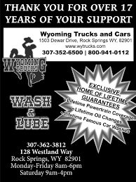 Blow OutThank You For Over 17 Years Of Your Support, Wyoming Trucks ... Cgrulations Graduates Wyoming Trucks And Cars Rock Springs Wy I80 Big Accident Involved Many Trucks Cars Youtube Sxsw 2018 Wyomings Plan To Connect Semi Reduce Traffic Brower Brothers Nissan A New Used Vehicle Dealer In I80 Multi Truck Car Accident 4162015 Dubois Towing Recovery Service Bulls Yepthose Are Used Trucks Sheridan Obsessing About Semitruck Crushes Cop Cruiser Viral Video Fox News Fileheart Mountain Relocation Center Heart Sleet Bull Wagons Pinterest Peterbilt Rigs