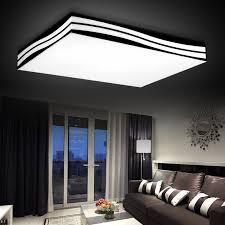 moderne led deckenleuchte wohnzimmer decke le diy kurze decke beleuchtung welle len 85 265v