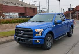 First 2015 F-150 Rolls Out Of Dearborn Truck Plant - The News Wheel Michigan Supplier Fire Idles 4000 At Ford Truck Plant In Dearborn Tops Resurgent Us Car Industry 2013 Sales Results Show The Could Reopen Two Plants Next Friday F150 Chassis Go Through Assembly Fords Video Inside Resigned To See How The 2015 F Announces Plan To Cut Production Save Costs Photos And Ripping Up History Truck Doors For Allnew Await Takes Costly Gamble On Launch Of Its Pickup Toledo Blade Plant Vision Sustainable Manufacturing Restarts Production