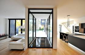 100 Glass Floors In Houses Side One Of Canadas Most Perfectly Minimal UltraLinx