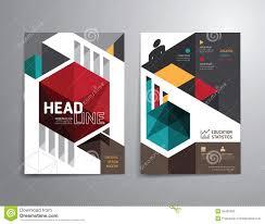 Vector Brochure Flyer Magazine Cover Booklet Poster Design Background Concept