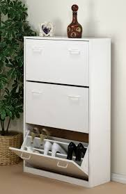 Ikea Bissa Shoe Cabinet White by Shoe Cabinet White Hemnes Shoe Cabinet With 2 Compartments White