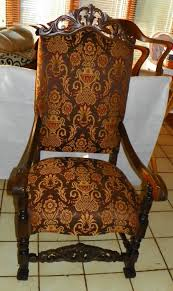 Walnut Carved High Back Entry Chair / And 50 Similar Items Carved Mahogany High Back Ding Side Chairs Collectors Weekly Arm Chair Kiefer And Upholstered Rest From Followbeacon Antique Vintage Set Of 6 Edwardian Oak French Style Fabric Solid Wood Wooden Buy Chairupholstered Chairssolid Beautiful Of Eight Quality Victorian 19th Century Renaissance Throne Four Antiquue Early 20th Art Deco Classical Chinese Fniture A Collecting Guide Christies Pdf 134