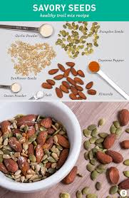 Roasted Unsalted Pumpkin Seeds Nutrition Facts by Trail Mix 21 Healthy Tasty Trail Mix Recipes To Make Yourself