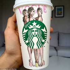 Starbucks Mug Art For Random Awesomeness0281