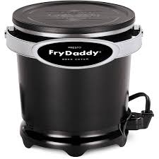 Frys Marketplace Patio Furniture by National Presto Frydaddy Electric Deep Fryer 4 Cup 1200 W 8 13