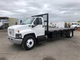 100 Kodiak Trucks 2007 Chevrolet C7500 Single Axle Flatbed Truck Isuzu 6HK1TC