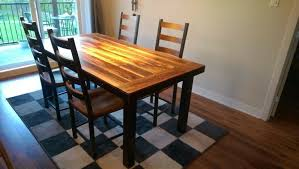 table de cuisine en bois massif best cuisine bois métal contemporary joshkrajcik us joshkrajcik us