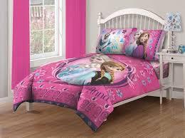 Disney Frozen Bed Set Twin forter Fitted Sheet Elsa Anna Sister