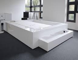schlafzimmer komplett in weissem hochglanz lack rechteck