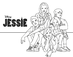 Full Size Of Coloring Pagesmesmerizing Jessie Page Disney Channel Pages To Print 009