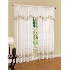 fresh walmart kitchen window curtains taste