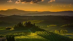 Wallpaper Tuscany Italy Landscape 4K Nature 5451