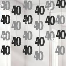 40th Birthday Decorations Canada by 40th Birthday Decorations U0026 Banners 40th Birthday Party Party