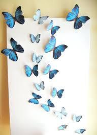 Diy Butterfly Wall Art Butterflies Decorations Best Decor Ideas On Pictures