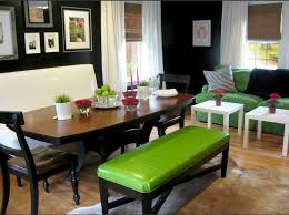 Break Design Rules Mixed Seating Dining Room