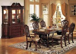 Cherry Dining Room Furniture Dark Chairs Unique Tables Wood Table