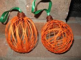 Dryer Vent Pumpkins Tutorial by String Pumpkins Craft Tutorial Youtube