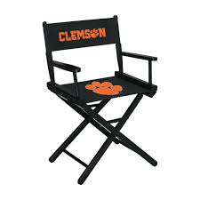 Clemson University Table Height Directors Chair Ncaa Zero Gravity Clemson Orange Chair Black Tigers Recling Camp Folding Chairs College Covers Textilene Pine Rocking Replacement Sling With Pillow Pnic Time University Sports With Digital Logo Academy Lcc12331 Round Table 30in Oversized Gaming Brands Elite