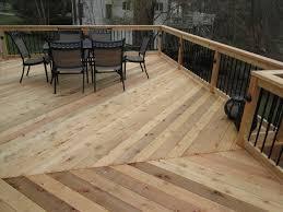 Runnen Floor Decking Outdoor Brown Stained by Decks Home U0026 Gardens Geek
