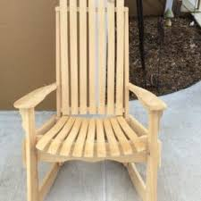 Cypress Queen Sized Amish Rocker
