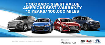 Phil Long Hyundai Dealership In Colorado Springs At Motor City