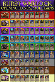 warlock aggro deck 2016 s24 burst zoolock wings s competitive deck with guide