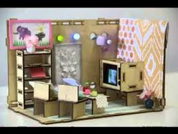 Barbie Living Room Furniture Diy by Diy Dolls House Furniture Projects Ideas Youtube