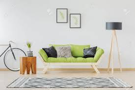 100 Contemporary Scandinavian Design Design Of Contemporary Interior With Green Sofa
