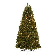 Pre Lit LED Hayden Fir Half Artificial Christmas Tree
