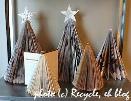 Christmas Tree Books Diy by 7 Bookish Craft Projects To Put You In The Christmas Spirit