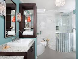Yellow And Gray Chevron Bathroom Accessories by Tropical Bathroom Decor Pictures Ideas U0026 Tips From Hgtv Hgtv