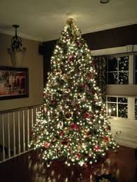 9 Ft Christmas Tree Yep Almost No Room Left At The Top But So Pretty