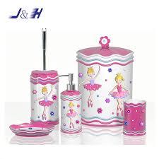 pink style painted resin badezimmer zubehör set buy kinder stil harz badezimmer set rosa harz badezimmer set rosa harz bad zubehör set product